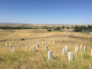 Battle of the Little Bighorn, 7th Cavalry Grave Markers