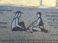 Indian Memorial, Battle of the Little Bighorn