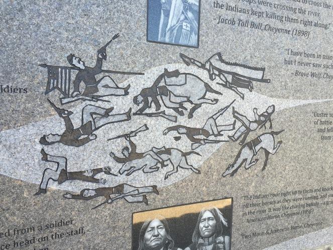 Indian Memorial, Battle of the Little Bighorn
