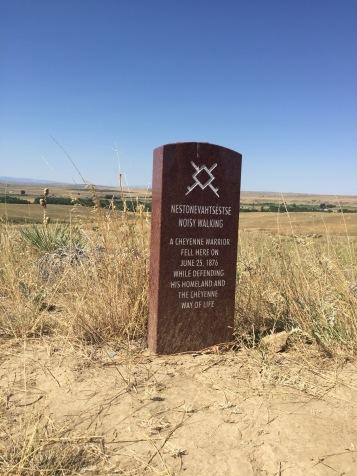 Battle of the Little Bighorn, Cheyenne Grave Marker