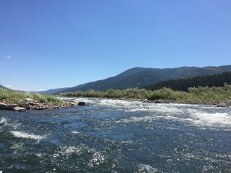Clark Fork River in Missoula, Montana